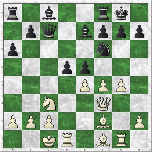 Blau Max - Kanko Ilkka (13...d5)
