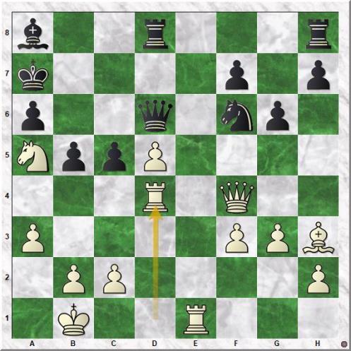 Kasparov Garry - Topalov Veselin (24.Rxd4!)