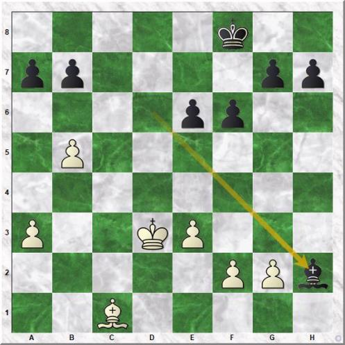 Spassky Boris Vasilievich - Fischer Robert James (29...Bxh2 ) (1)