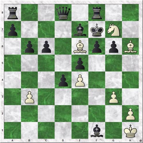 AlphaZero - Stockfish (32.Be6#)