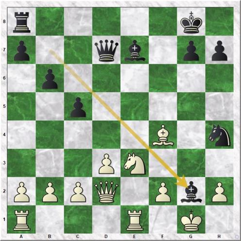 Sarakauskas G - McShane L (23...Bxg2)