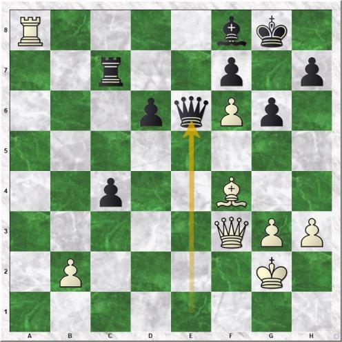 Kociscak Jiri - Tazbir Marcin (34...Qe6)