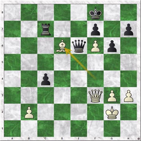 Kociscak Jiri - Tazbir Marcin (36.Bxd6+)