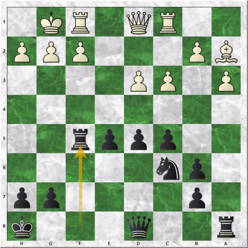 Svidler Peter - Carlsen Magnus (17...Rxf5)
