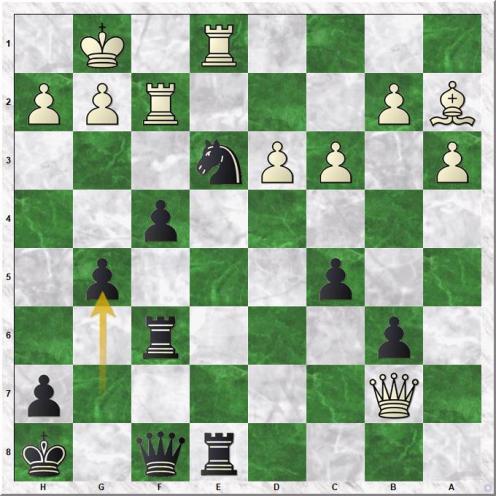 Svidler Peter - Carlsen Magnus (26...g5!)