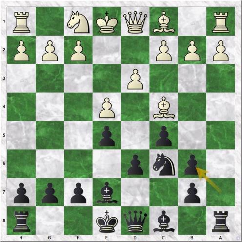 Svidler Peter - Carlsen Magnus (9...axb6)