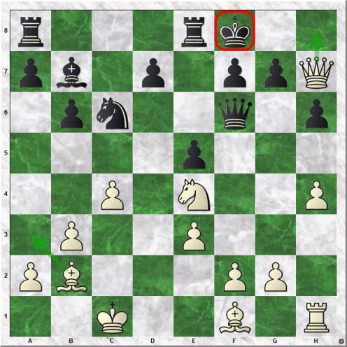 Carlsen Magnus - Ibrayev Nurlan (19.Ne4!+-)
