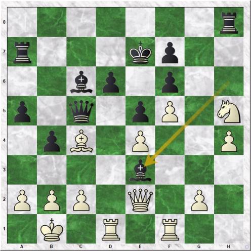 Carlsen Magnus - Kotronias Vasilios (21...Be3)