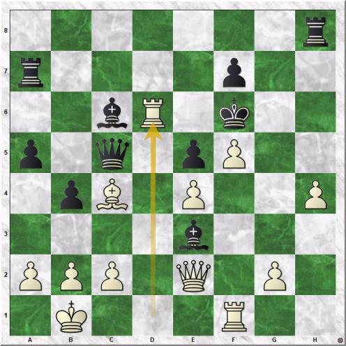Carlsen Magnus - Kotronias Vasilios (23.Rxd6+!)