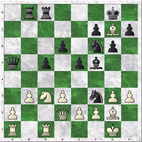 Carlsen Magnus - Vachier-Lagrave Maxime (17...Nxf3+)