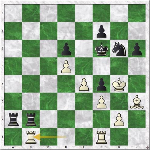 Kamsky Gata - Kasparov Garry (33.Rb1).jpg