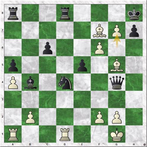 Lilienthal Andor - Smyslov Vassily V (28.g7#)