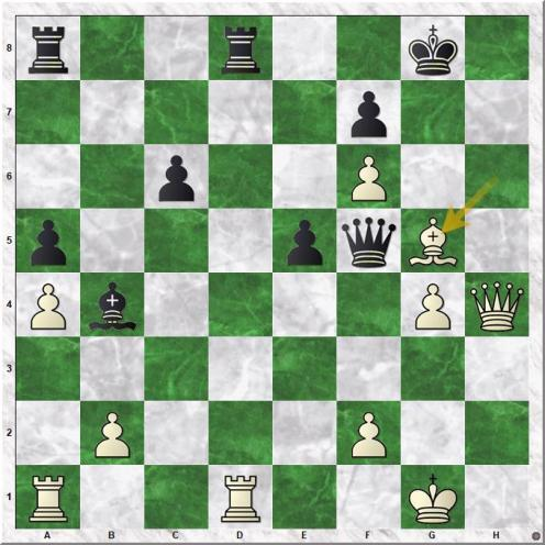 Lilienthal Andor - Smyslov Vassily V (32.Bxg5)