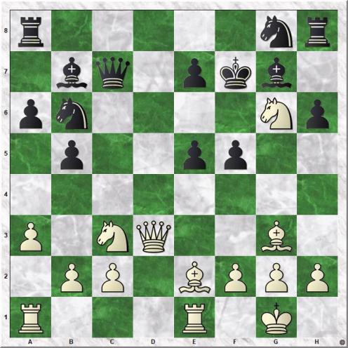 Gruenfeld Yehuda - Soltis Andrew E (17.Nxg6)
