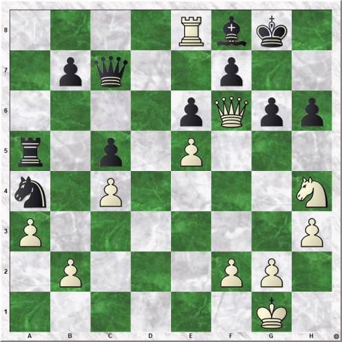 Tal Mihail - Suttles Duncan (33.Nh4!)