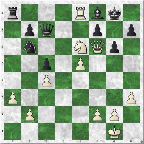 Tal Mihail - Suttles Duncan (34.Nxe6!)