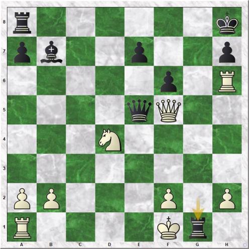Titov German - Kovalev Andrei (22...Rg1+)