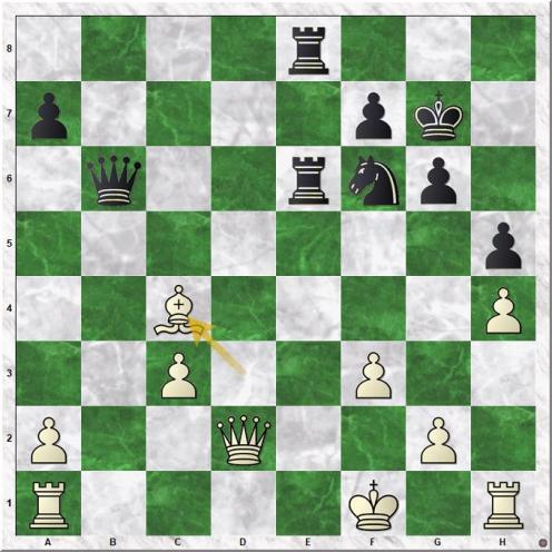 Anand Viswanathan - Kasparov Garry (25.Bxc4)