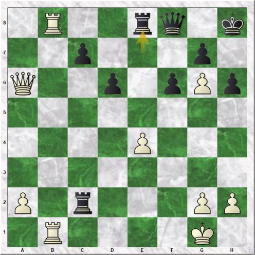 Capablanca Jose Raul - Thomas George Alan (28...Re8)