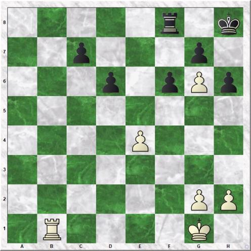 Capablanca Jose Raul - Thomas George Alan (31...Rxf8)
