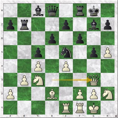 Vachier Lagrave Maxime - Carlsen Magnus (17.Qg3)