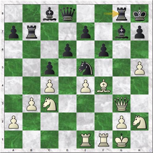 Vachier Lagrave Maxime - Carlsen Magnus (19...Rg8)