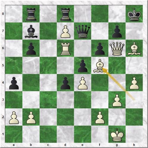 Ganguly Surya Shekhar - Saduakassova Dinara (33.Bf5)