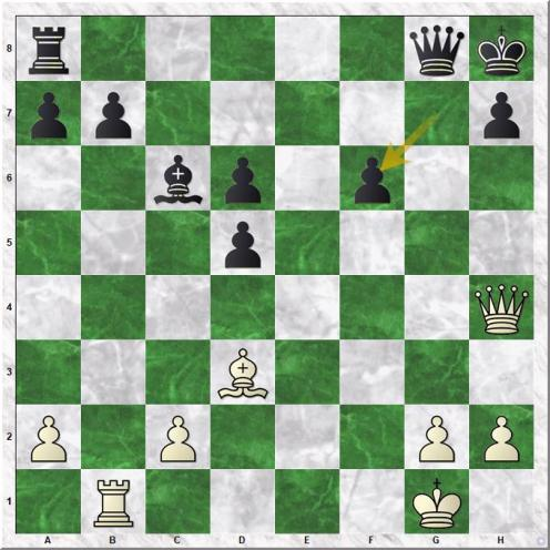 Jones Gawain C B - Onischuk Vladimir (25...gxf6)