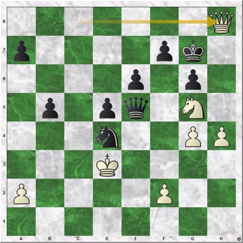 Matulovic Milan - Zvetkov Aleksandar (35.Qh8+)