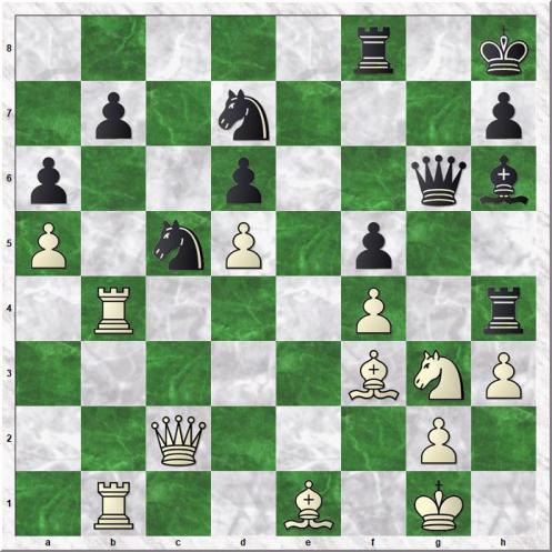 Wojtaszek Radoslaw - Tari Aryan (34...Bh6)
