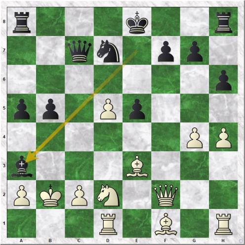 Adams Michael - Gelfand Boris (20...Ba3+)