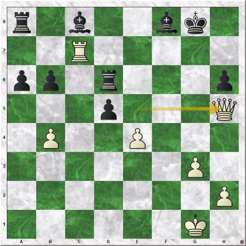 Gelfand Boris - Ivanchuk Vassily (30.Qh5)