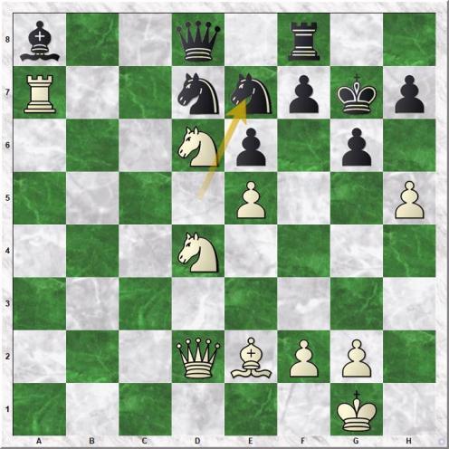 Gelfand Boris - Piket Jeroen (31...Ne7)