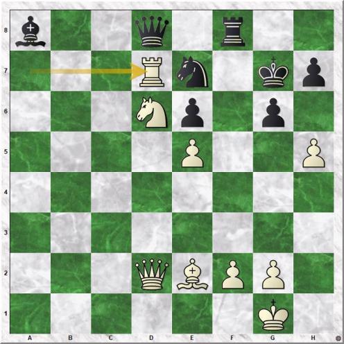 Gelfand Boris - Piket Jeroen (33.Rxd7)