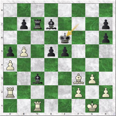 Jones Gawain C B - Martirosyan Haik M. (25...Ke6)