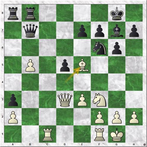 Magnus Carlsen (2870) - Andreas Tryggestad (2365) (20.Be5)