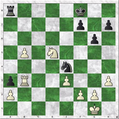 Magnus Carlsen (2870) - Andreas Tryggestad (2365) (31.Nxd5)