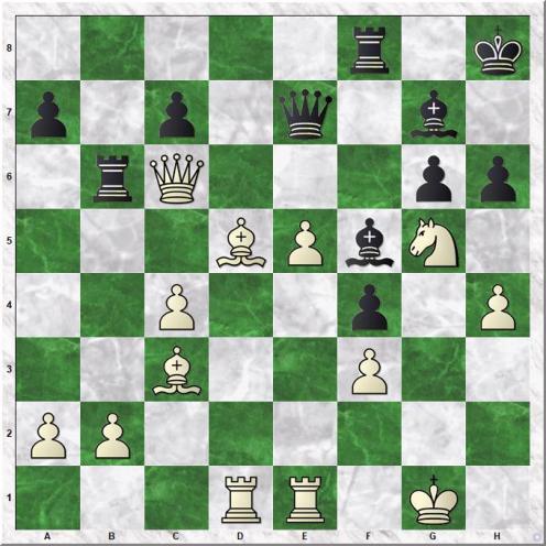 Oparin Grigoriy - Gabuzyan Hovhannes (24...Rb6)