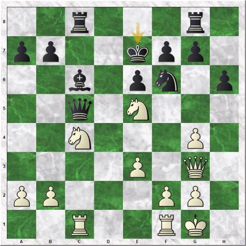 Carlsen Magnus - Ghaem Maghami Ehsan (20...Ke7)