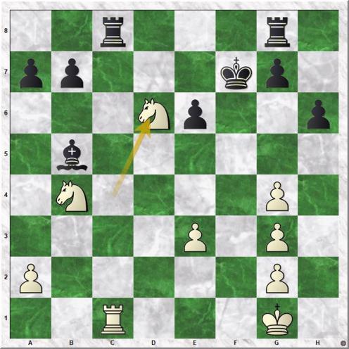 Carlsen Magnus - Ghaem Maghami Ehsan (26.Nd6+)
