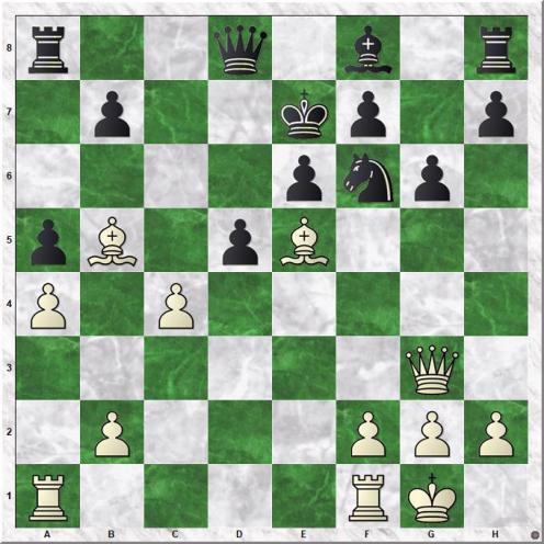 Carlsen Magnus - Utegaliyev Azamat (20.c4!!)