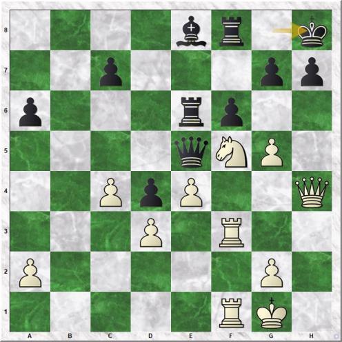 Gashimov Vugar - Nielsen Peter Heine (32...Kh8)
