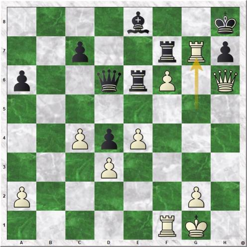 Gashimov Vugar - Nielsen Peter Heine (38.Rg7)