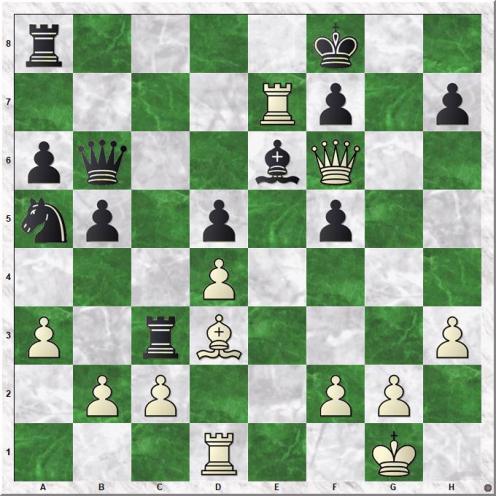Jobava Baadur - Ponomariov Ruslan (20.Qxf6)