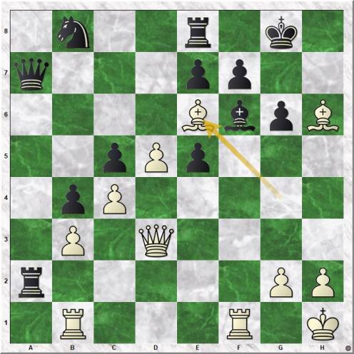 Sumets Andrey - Oney Riza (27.Be6)
