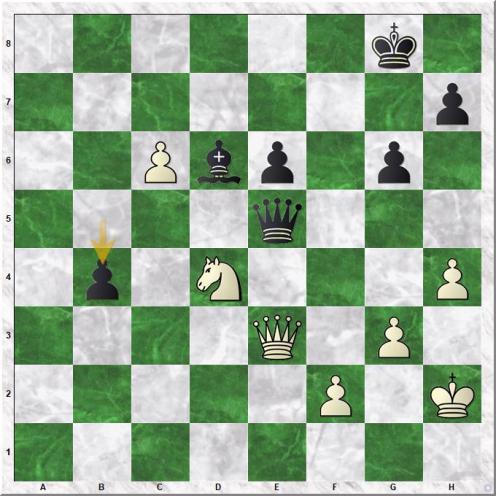 Tan Zhongyi - Goryachkina Aleksandra (45...b4)
