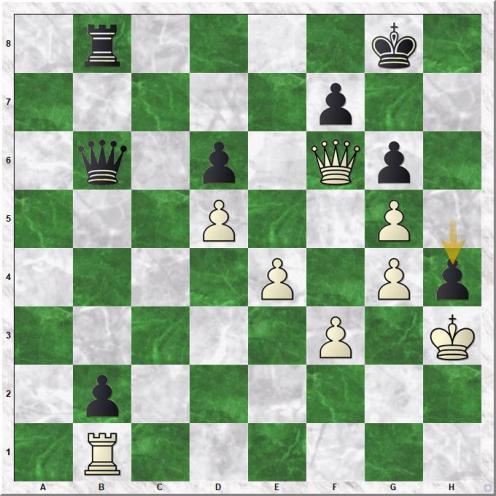 Vachier Lagrave Maxime - Kasparov Garry (41...h4!)