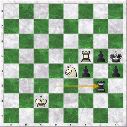 Adams Michael - Kramnik Vladimir (71...Rg3!)