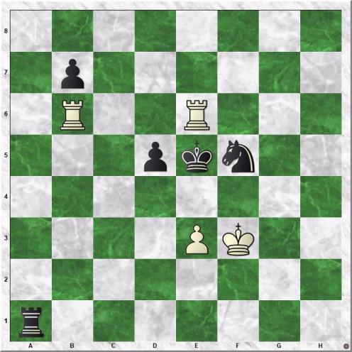 Kramnik Vladimir - Gelfand Boris (66.Rhe6#)