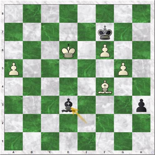 Aronian Levon - Karjakin Sergey (68...Bd3)